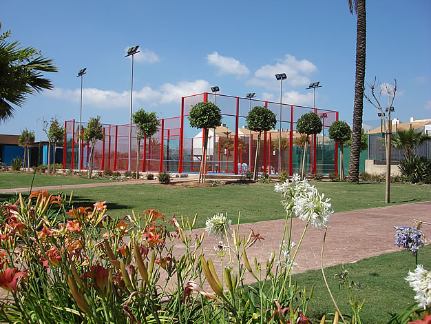 Area deportiva en Mar de Cristal
