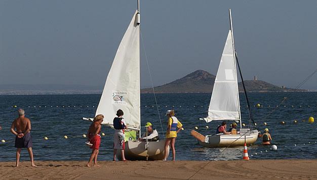 Deportes acuáticos en Mar de Cristal