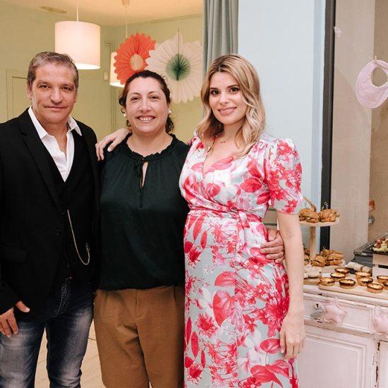 Gustavo González y María Lapiedra, en el baby shower de Mia, baby shower Maria laPiedra, hija de maria lapiedra, baby shower de mia hija de maria lapiedra, maria lapiedra da a luz, evento maria lapiedra