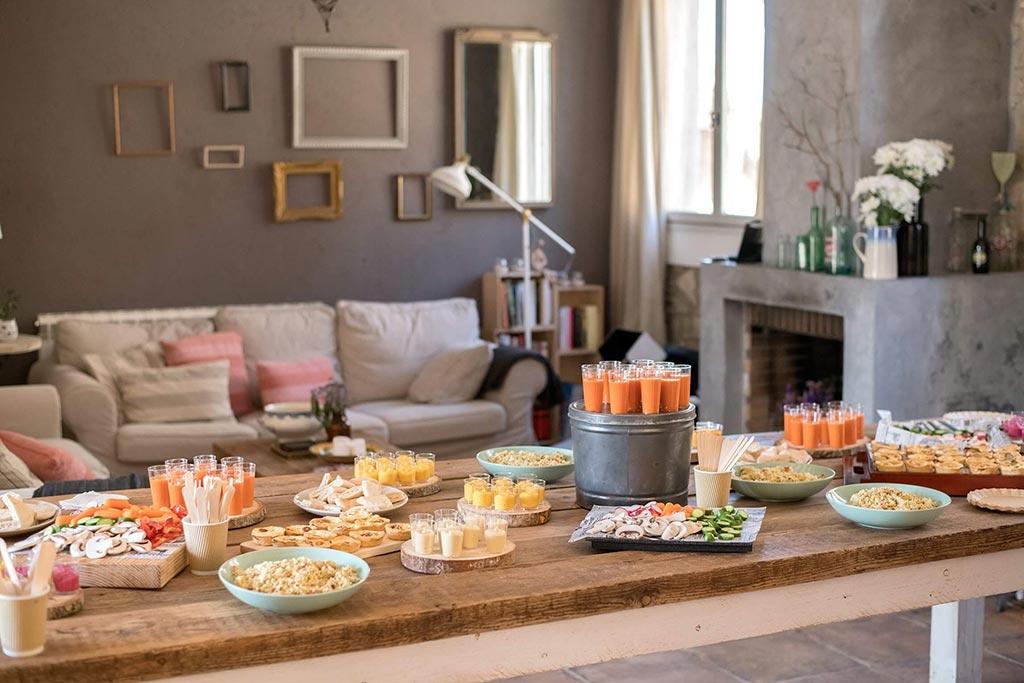 Eventos privados casa les germanes, catering eventos privados, eventos privados, event planner, casa les Germanes, emprencamp, cocinamos por ti en Barcelona