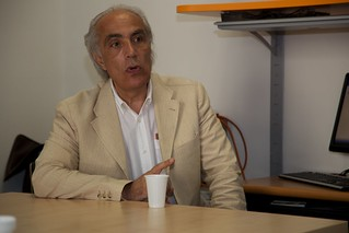 Alessandro Piccolo, ordinario di Chimica agraria all'Università di Napoli Federico II