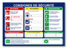 Que Contient L Affichage Obligatoire Des Consignes De Securite