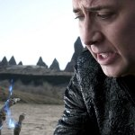 Nicolas Cage in Ghost Rider: Spirit of Vengeance