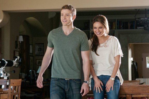 """Justin Timberlake and Mila Kunis in """"Friends with Benefits"""""""