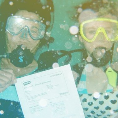 Scuba diving with Groupon