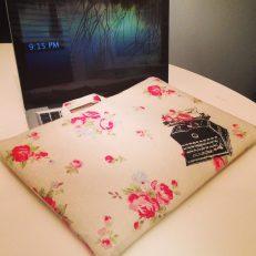 Laptop case: culprit of the Lenten downfall