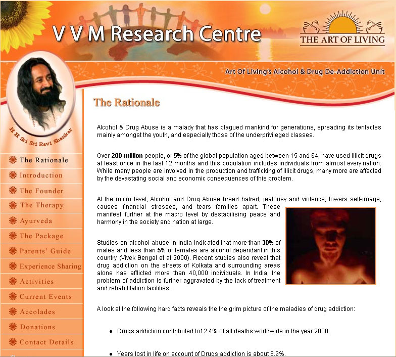 VVM Research Centre | The Art of Living