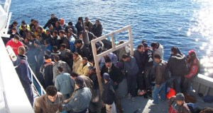 Migrants from North Africa
