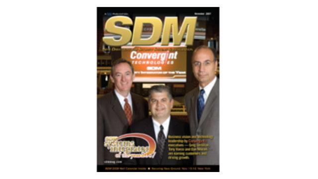Greg Lernihan, Dan Moceri, Tony Varco SDM cover Magazine