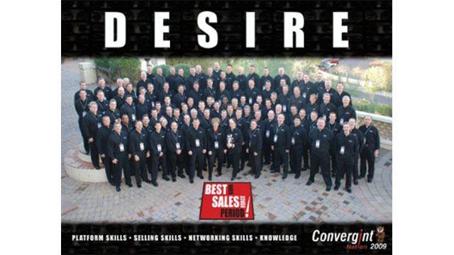 Convergint 2009 Desire group photo header image