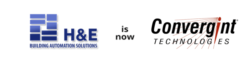 H and E Building Automation Solutions is Now Convergint Technologies