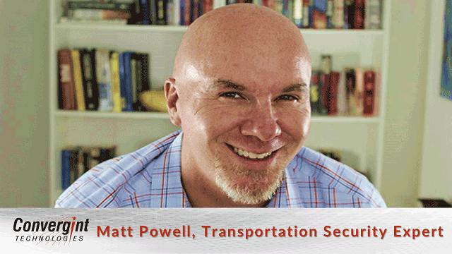 Matt Powell transportation security expert header image