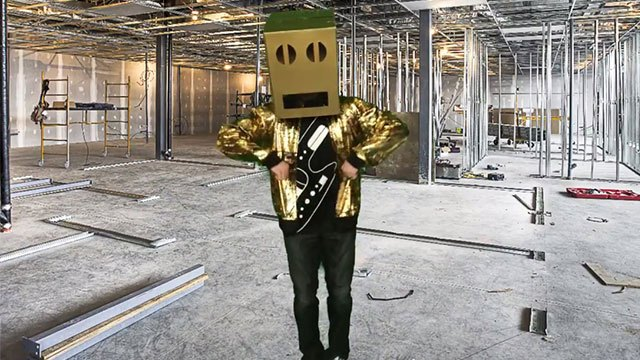 Male in Gold suit for video contest header image