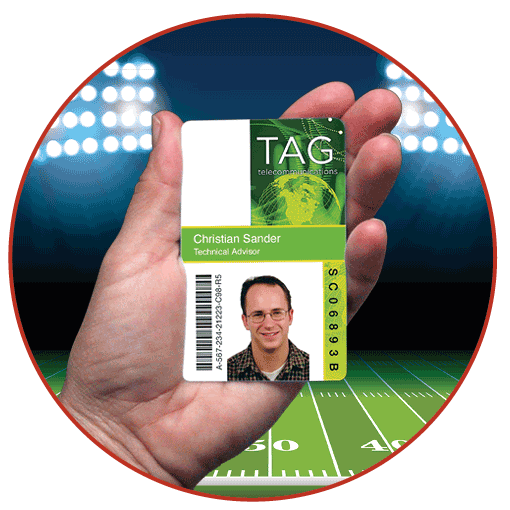 example tag badge image