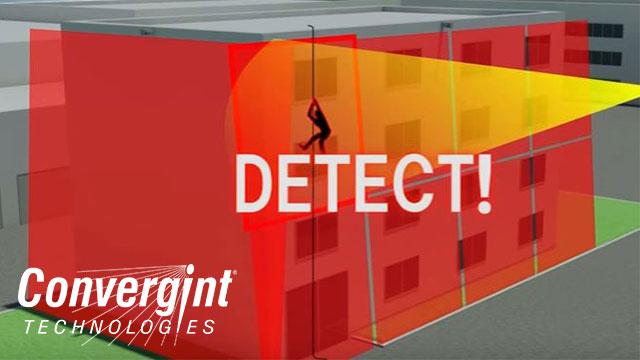 Intruder detection laser wall
