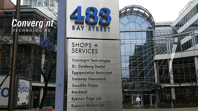 Bay street Convergint Technology location header image