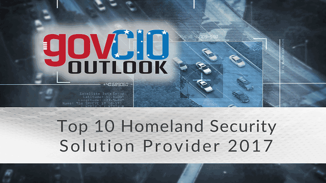 govCIO outlook top 10 homeland security solution provider 2017 header image