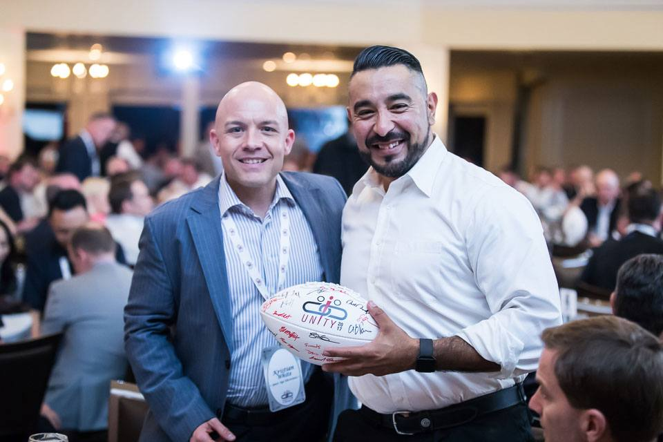 Unity 2017 football signed