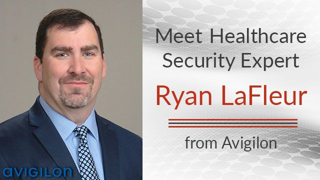 Ryan Lafleur security expert from Avigilon
