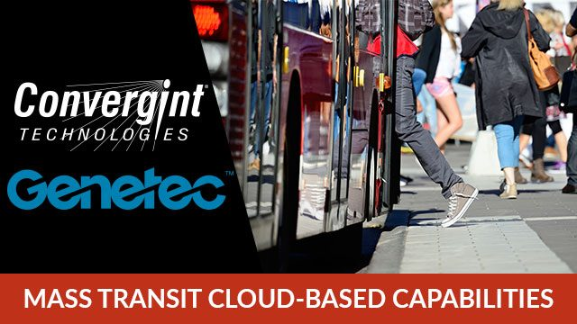 Genetec Mass Transit Cloud-Based Capabilities Header Image