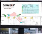 Convergint Design Tool on Computer