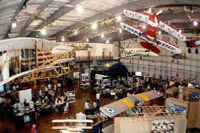 Image of Airplane Exhibit