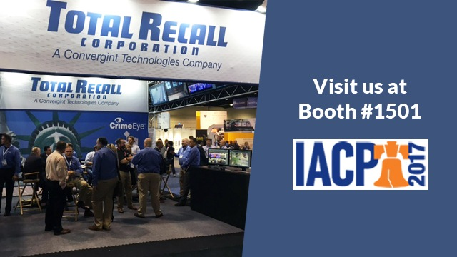 Image of Booth Total Recall at IACP 2017