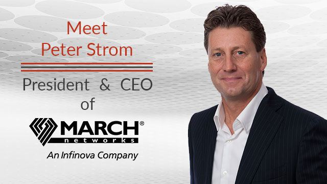 Image of Peter Strom President and CEO of MARCH Network