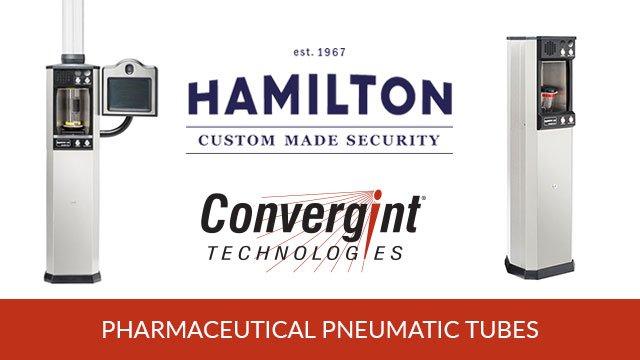 Hamilton Pharmaceutical Pneumatic Tubes Header Image
