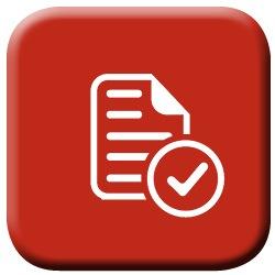 AODA Icon Paper with Check Mark Image