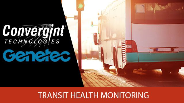 GENETEC Transit Health Monitoring Header Image