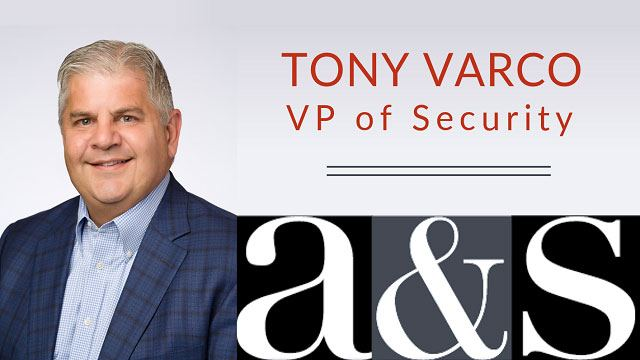 Tony Varco Featured in A&S Header Image