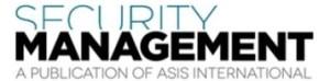 Security Management A Publication Of Asis International Logo
