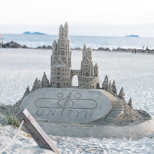 Sandcastle Convergint Closeup Image