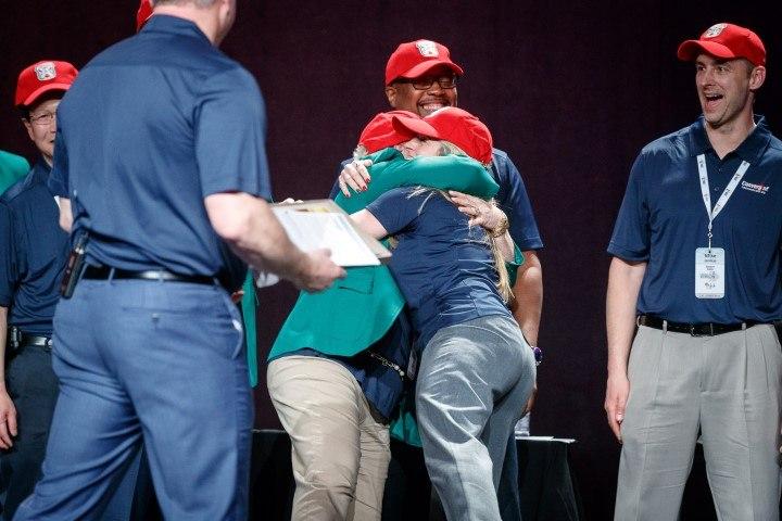 Convergint Nation Conference 2018 Hugging