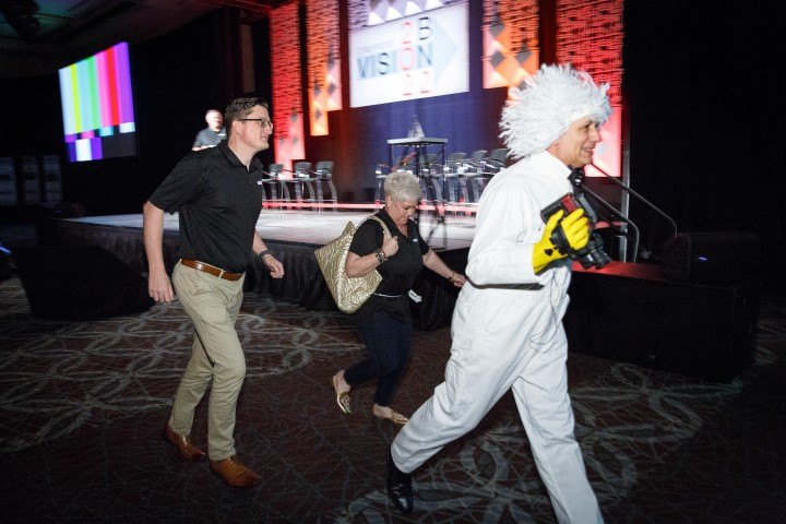 Convergint Nation Conference 2018 Costume Apparel