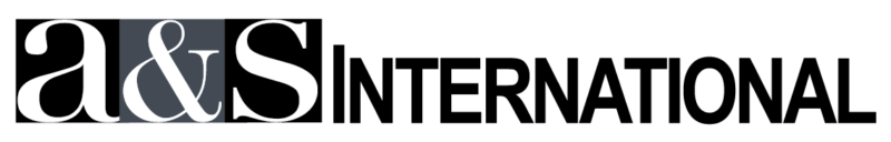 A and S International Logo