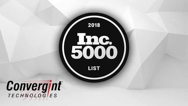 Convergint Named to Inc 5000 List