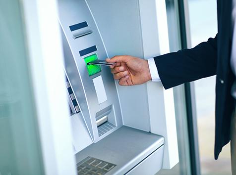 Guy at ATM