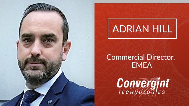 Adrian Hill Commercial Director EMEA