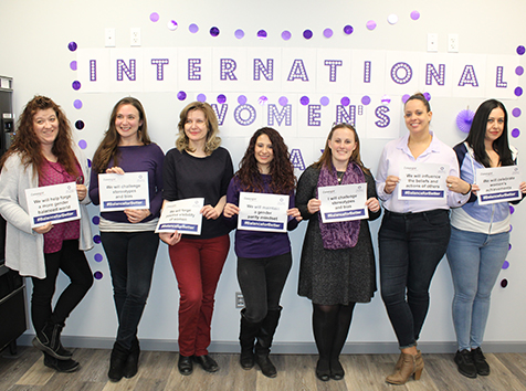 Convergint International Women's Day