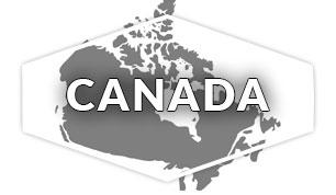 Canada Region Map
