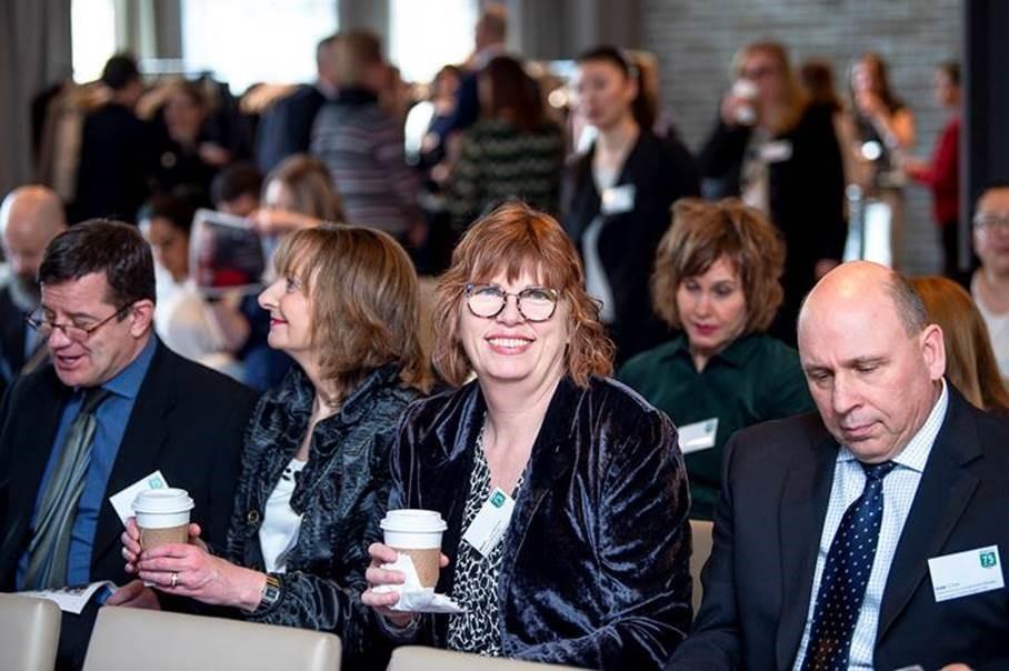 Convergint's Team at Alberta's Top 75 Employers 2020 Awards Reception