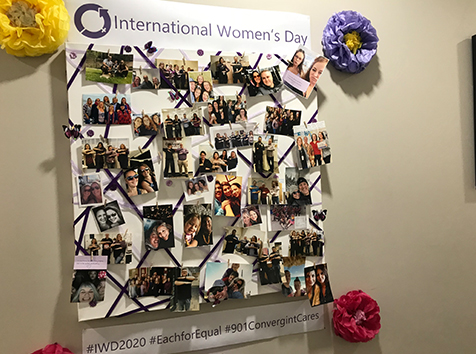 Convergint International Women's Day Festivities
