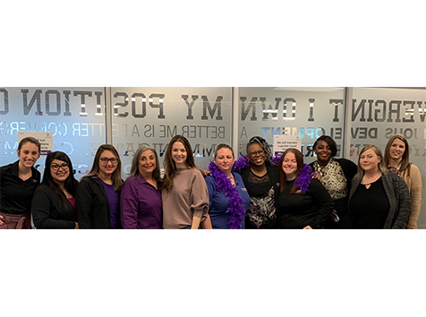 Convergint Colleagues gathering for International Women's Day 2020