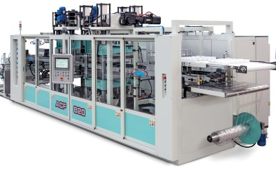 Thermoforming and automatic packaging