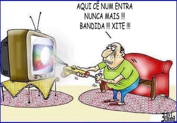 charge bessinha globo