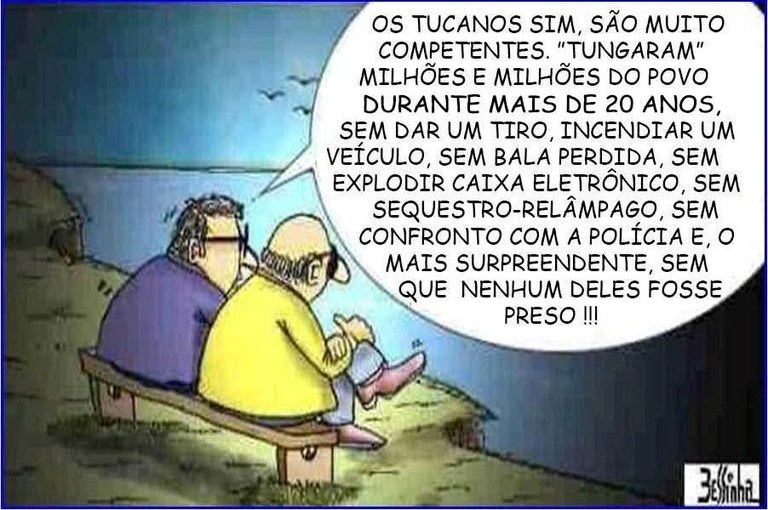 charge bessinha tucanos