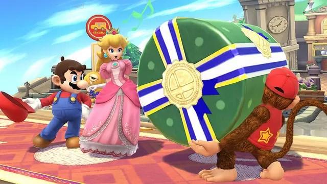 Mario Peach DK