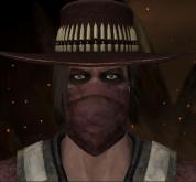 Erron Black com máscara